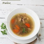 Receta Paleo- Sopa de pollo