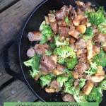 Desayuno Paleo: Salchicha y vegetales