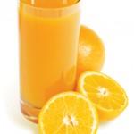 Jugo de naranja con probioticos