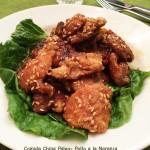 Comida china paleo – Pollo a la naranja