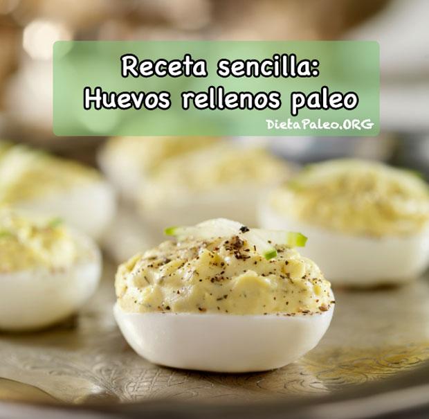 Recetas Paleo Huevos Rellenos Y Mayonesa Paleo Dieta Paleo