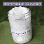 Protector solar casero y natural