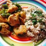 Comunidad DietaPaleo: Arroz de Coliflor y Pollo al Curry con Coco