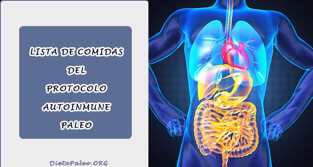 Recetas dieta paleo autoinmune