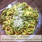 Receta Protocolo Autoinmune Paleo: Pasta al pesto