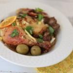 Pollo marroquí con limones preservados