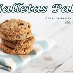 Galletas Paleo con Mantequilla de nueces