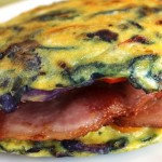 Sándwich de huevo y tocino — ¡Sin pan!